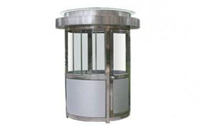 不锈钢圆形岗亭-08