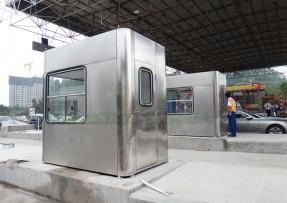 高速收费站包板式收费亭-16