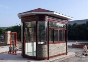 新中式钢结构艺术岗亭-12